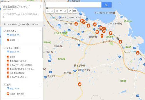 芝桜富士周辺マップ